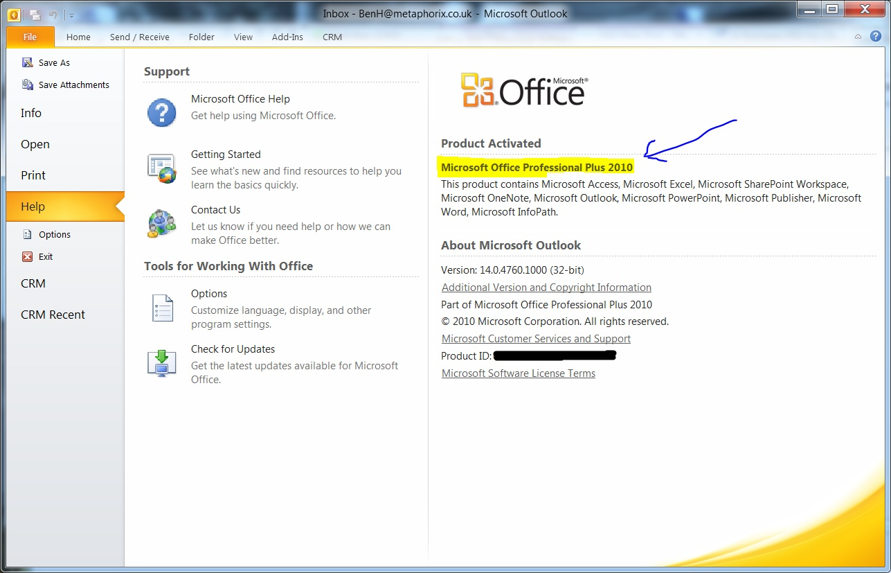 Office 365 metaphorix - Office 365 server settings for outlook 2010 ...